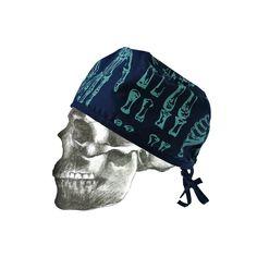 Hand printed theatre cap