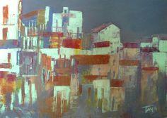 Paesaggio  70x40 cm  Luigi Torre