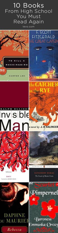 Remember these books from high school? Read them again!