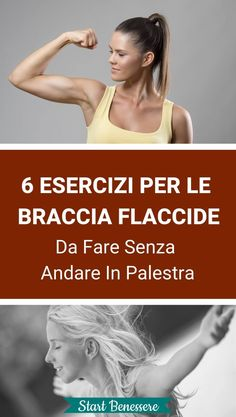 6 Esercizi Per Le Braccia Flaccide Da Fare Senza Andare In Palestra 6 Exercises For Flabby Arms To Do Without Going To The Gym Physical Fitness, Yoga Fitness, Fitness Tips, Health Fitness, Fitness Humor, Fitness Journal, Fitness Logo, Mens Fitness, Basic Yoga Poses