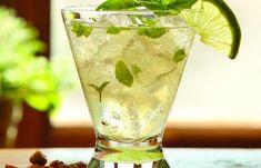 Basil Gin & Ginger Cocktail