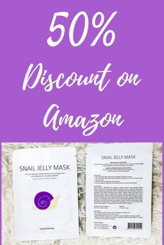 50% Amazon promo code for Skederm Snail Jelly Mask (plus review)