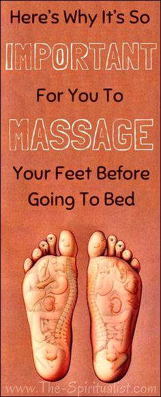 Feet Massage Before Sleep?!