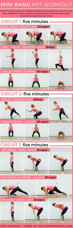 8f869237b 15-Minute Mini Resistance Band HIIT Workout