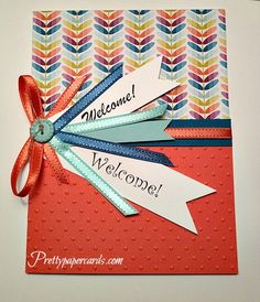 Pretty Paper Cards | a place for beautiful paper crafts, Peggy Noe Independent Stampin' Up! Demonstrator