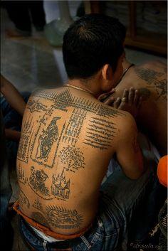 Tattoos . Thailand