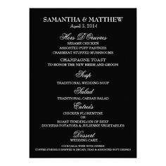 deal review template - wedding buffet menu template orange chandelier menu