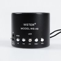 Free shipping to worldwide Portable Micro SD TF USB Mini Stereo Speaker Music Player FM Radio PC Mp3