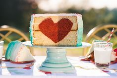 Cake of the heart's queen