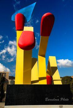 Claes Oldenburg bcn #streetart #publicart #artwork http://www.pinterest.com/TheHitman14/art-streetpublic-%2B/