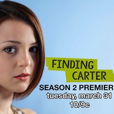 #FindingCarter Season 2 Premiere Tuesday, March 31