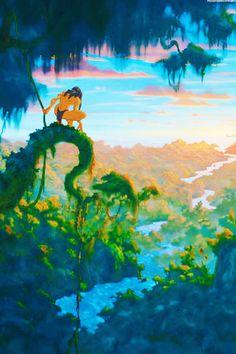Tarzan's home
