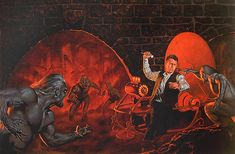 Morlocks attack the man from the past. Time Machine Movie, The Time Machine, Coincidences, Wells, Childrens Books, Art For Kids, Fairy Tales, Sci Fi, Fiction