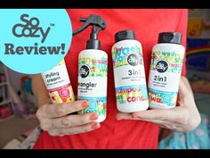 I was excited to try out #SoCozyAtTarget salon formulas for the unique hair needs of kids between the ages of 2 and 12 years old available at Target.