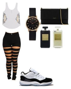 """""""Black Gold"""" by goldendiamondstack on Polyvore featuring Billabong, Concord, Marc by Marc Jacobs and Lanvin"""