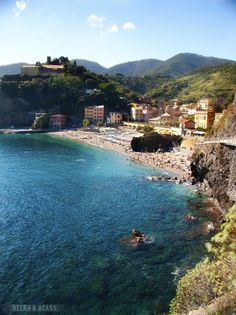 Cinque Terre, Italy - one of the most beautiful places :) Places Around The World, Travel Around The World, The Places Youll Go, Places To See, Around The Worlds, Cinque Terre, Vacation Destinations, Dream Vacations, Vacation Spots