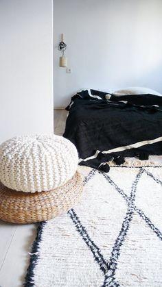 BENI OUARAIN RUG Vintage Moroccan Wool Rug by lacasadecoto