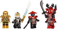 2013 LEGO Ninjago Minifigures