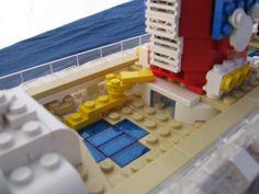 Lego Disney Cruise Ship Pool deck