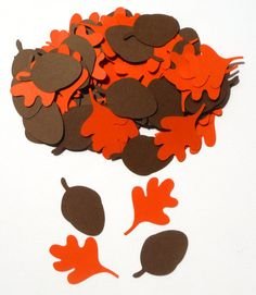 Chip and Dale Themed Party Confetti Set of 100 by ScrapsToRemember, $3.50