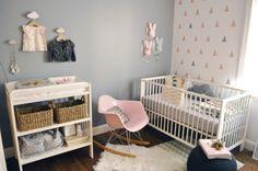 Chambre bébé poétique