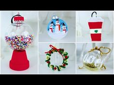 5 CHEAP AND EASY DIY CHRISTMAS ORNAMENTS | PINTEREST INSPIRED - YouTube