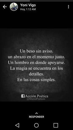 En Las Cosas Simples..
