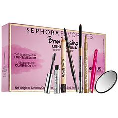 Sephora Favorites - Brow Raising Brow Wardrobe  in Medium/Dark #sephora