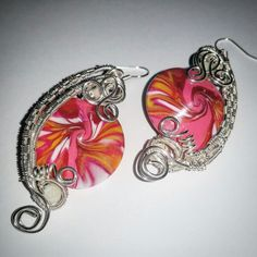Swirl earrings #maurabijoux