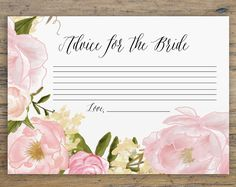 Use your home computer to create your own printable bridal shower invitations. These quick and easy-to-use wedding templates are sure to impress guests! ----------------------------------------- ◦ -----------------------------------------  H O W ⋆ I T ⋆ W O R K S  1. Add listing to shopping cart, purchase, and download file(s) >> How to Download Your Digital Items: (www.etsy.com/help/article/3949)  2. Open the PDF template in Acrobat Reader DC >> Files must be open within the latest version…