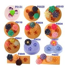 Chocolate Jelly 3D Mini Silicone Fondant DIY Flower Cake Mold . -- Wow! I love this. Check it out now! : home diy kitchen