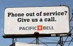 helloooooo. that should read AT&T. If you're having problems with your connection, please visit our website at...