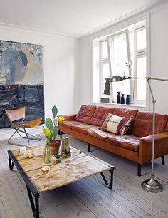 the home of danish designer brigitte rabens | the style files