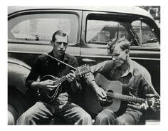 Doc Watson and Ralph Rinzler