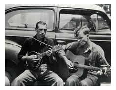 North Carolina's own, Doc Watson. Any early shot of this great picker.