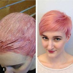 haircuts and color pictures cool gold pixie hair i ll never in 2018 5369