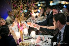 Daniela & Mark | The State Room | Zev Fisher Photography | Flowers by Blooms of Hope