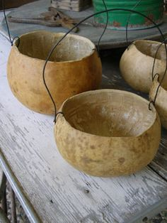 Nice site! i have a bunch of gourds, might have to make one of these! Sweet Liberty Homestead gourd seedling planter buckets! Come follow us at Shannon McConnachie as we're making primitives again! We'll be up and running hopefully by Thanksgiving!