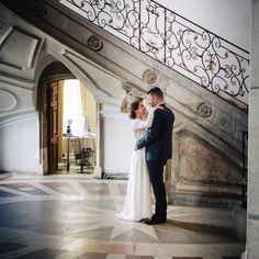 Les mariés à l'abbaye des Prémontrés Pont-à-Mousson
