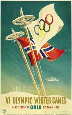 vintage olympics! Norway! Add Around The Rings on www.Twitter.com/AroundTheRings & www.Facebook.com/AroundTheRings for the latest info on the Olympics.