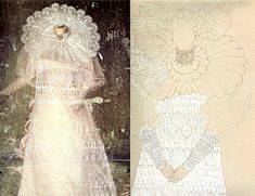 Eiko Ishioka's costume design for Lucy's Wedding Dress in Francis Ford Coppola's Dracula