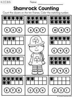 ... on Pinterest | Kindergarten, Kindergarten Math and Math Worksheets