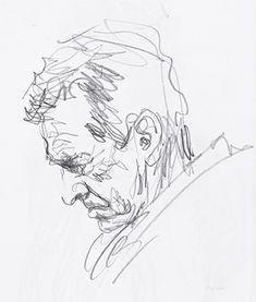 Sketch of head. to drawing head Pencil Drawings Of Flowers, Pencil Art Drawings, Realistic Drawings, Colorful Drawings, Drawing Sketches, Pencil Sketch Art, Croquis Drawing, Horse Drawings, Pen Sketch