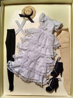 Ellowyne Wilde Doll Outfit Stolen Moments New Tonner White Dress   eBay