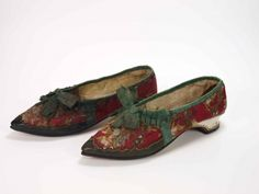 Shoes, ca 1795, Museum Weißenfels