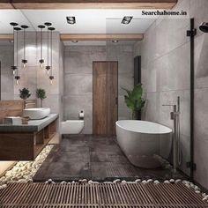 Bathroom Spa, White Bathroom, Bathroom Plants, Bathroom Ideas, Bathroom Designs, Master Bathroom, Silver Bathroom, Shower Ideas, Bathroom Cabinets