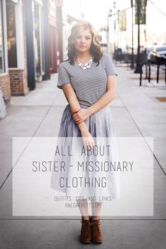 All About Sister Missionary Clothing Blog. Good place to find Muslim mission appropriate clothes