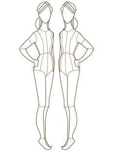 <b>Fashion</b> Design <b>Template</b> Printable http://www.pic2fly.com/<b>Fashion</b> ...