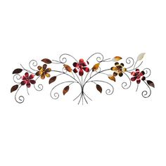 This Elements Swirl Tree Metal Wall Décor brings a colorful touch of the garden into your home. A distinctive piece featuring a swirl tree with metallic flowers and leaves, this nature-inspired piece will make a lovely accent to your home decor. Tree Wall Decor, Metal Wall Decor, All Wall, Wall Décor, Metal Flowers, Industrial Chic, Cool Walls, Metal Walls, Design Trends