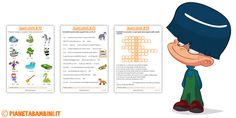Schede Didattiche B-P Stampare Animals And Pets, Family Guy, Education, Kids, Windows, Geography, Alphabet, Speech Language Therapy, Art